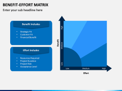 Benefit Effort Matrix PPT Slide 3