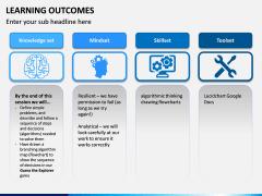 Learning Outcomes PPT Slide 3