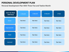 Personal Development Plan PPT Slide 17