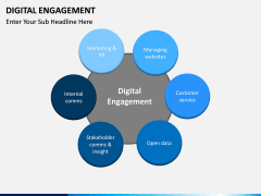 Digital Engagement PPT Slide 1