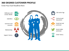 360 degree customer profile PPT slide 12