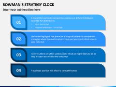 Bowman Strategy Clock PPT Slide 9