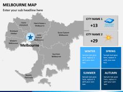Melbourne Map PPT Slide 11