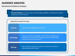 Audience Analysis PPT Slide 12