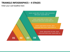 Triangle Infographics – 4 Stages PPT Slide 2