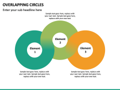 Overlapping Circles PPT Slide 28