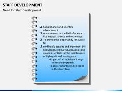 Staff Development PPT Slide 11
