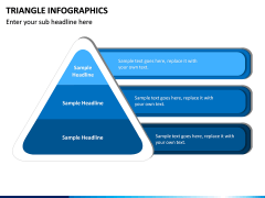 Triangle Infographics PPT Slide 8