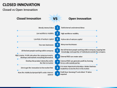 Closed Innovation PPT slide 10