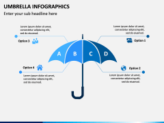 Umbrella Infographics PPT Slide 8