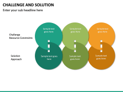 Challenge and Solution PPT Slide 11