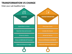 Transformation Vs Change PPT Slide 14