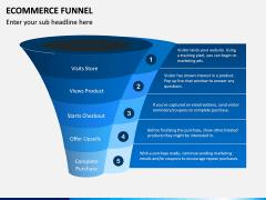 E-commerce Funnel PPT Slide 6