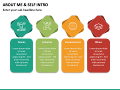 About Me / Self Intro PPT Slide 25