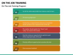 On the Job Training PPT Slide 18