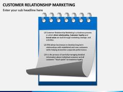 Customer Relationship Marketing PPT Slide 1