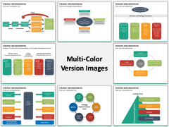 Strategy implementation multicolor combined