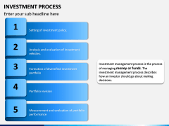 Investment Process PPT Slide 1