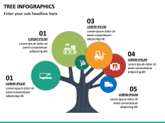 Tree Infographics PPT Slide 24