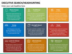 Executive Search (Headhunting) PPT Slide 31
