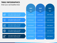 Table Infographics PPT Slide 2