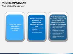 Patch Management PPT Slide 1