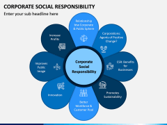 Corporate Social Responsibility (CSR) PPT Slide 1