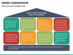 Energy Conservation PPT Slide 24