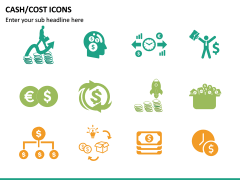 Cash Cost Icons PPT Slide 16