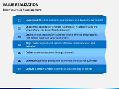 Value Realization PPT Slide 9