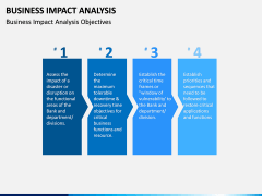 Business impact analysis PPT slide 5
