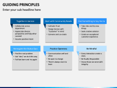 Guiding Principles PPT Slide 14