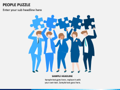 People Puzzle PPT Slide 12