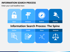 Information Search Process PPT Slide 1