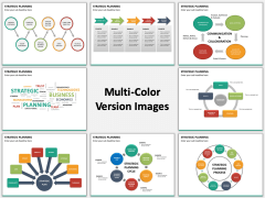 Strategic planning multicolor combined