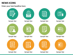 News Icons PPT Slide 13