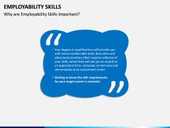 Employability Skills PPT Slide 3