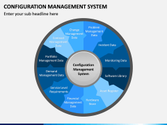 Configuration Management System PPT Slide 1
