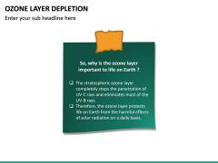 Ozone Layer Depletion PPT Slide 29
