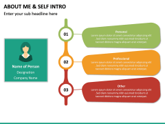 About Me / Self Intro PPT Slide 19