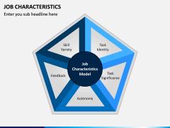 Job Characteristics PPT Slide 1