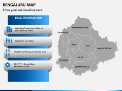 Bengaluru Map PPT Slide 8