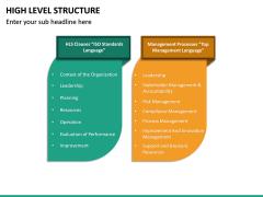 High Level Structure PPT Slide 17