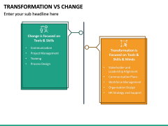 Transformation Vs Change PPT Slide 11