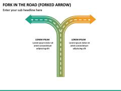 Fork in the Road PPT Slide 23
