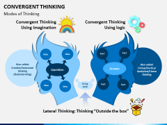 Convergent thinking PPT slide 1