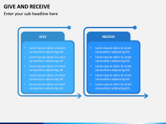 Give and Receive PPT Slide 5