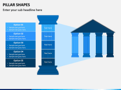 Pillar Shapes PPT Slide 1