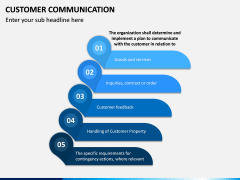 Customer Communication PPT Slide 15