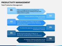 Productivity Management PPT Slide 15